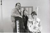 Benny sammen med hans to venner Lars & Erik, sammen havde de et lille band :o)