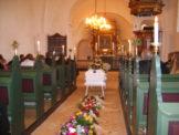 Børges båre i Ousted kirke